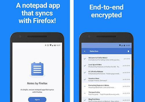 Download Notes By Firefox Android 1 0 (Test Pilot) | Google Play