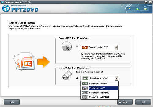 software ppt2dvd