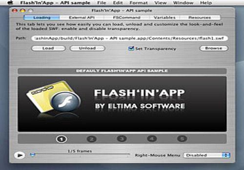 Flash'In'App pour Mac