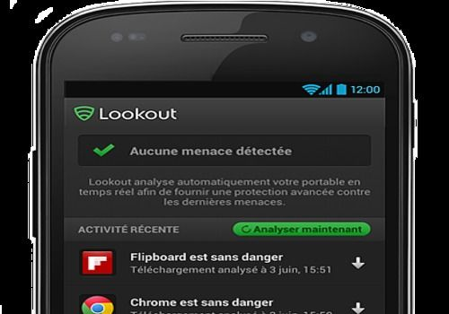 Lookout pour Android