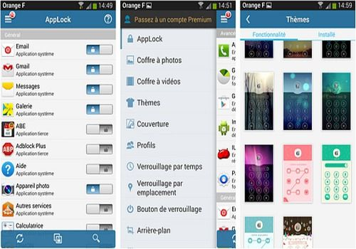 Serrure AppLock Android