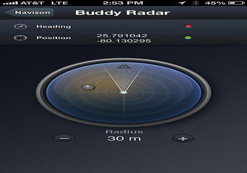 Navizon pour iOS