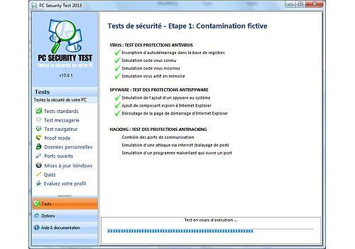 Telecharger Pc Security Test 2013 Pour Windows Freeware