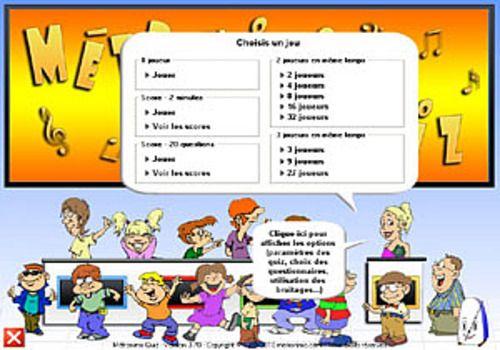 Télécharger Métronimo Quiz pour windows | Freeware