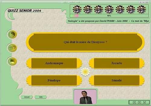Quizz senior 2004