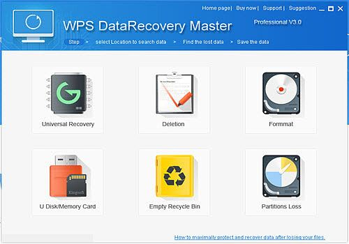 WPS Data Recovery Master