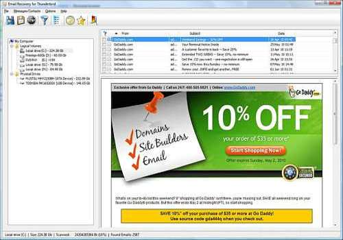 T l charger email recovery for mozilla thunderbird pour - Telecharger console de recuperation windows 7 ...