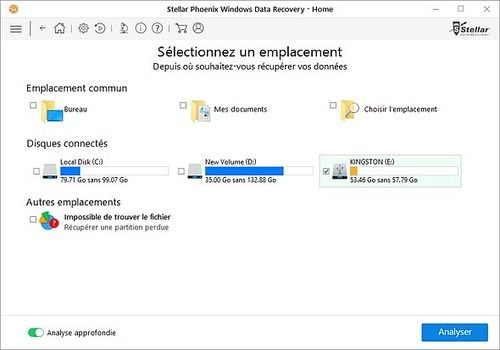 Stellar Phoenix Windows Data Recovery - Home 7.0