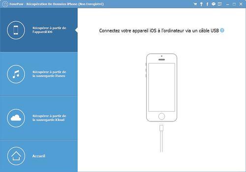 FonePaw - Récupération De Données iPhone pour Mac