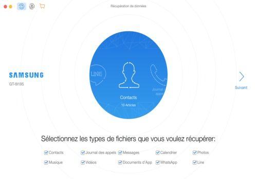 PhoneRescue pour Android (MAC) pour Mac