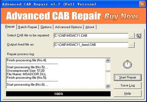 Advanced CAB Repair