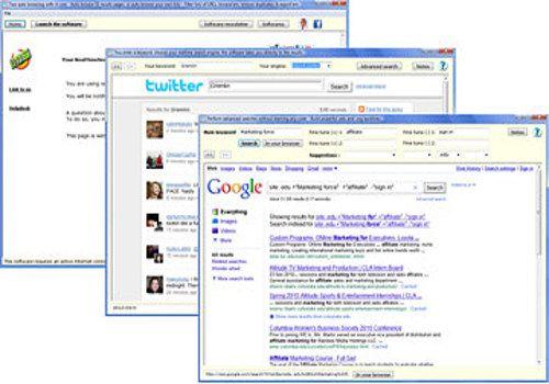 Internet marketing software three