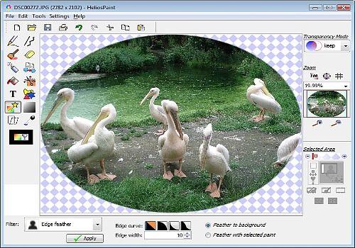 HeliosPaint pour Linux