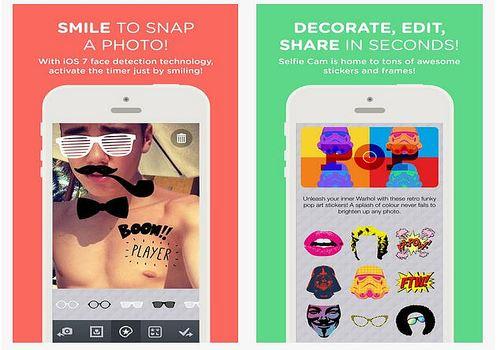 Selfie Cam App iOS