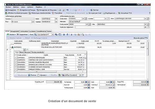 ebp gestion commerciale pro v18