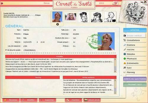 T l charger poinka carnet de sant pour windows shareware for Suivre un courrier suivi