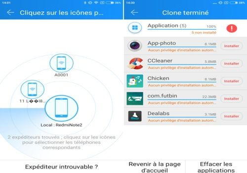 CLONEit - Batch Copy All Data Android