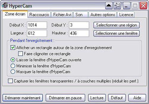 hypercam 2 fr