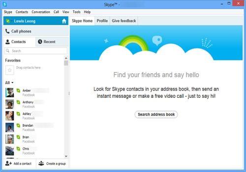 T l charger skype pour windows freeware - Telecharger skype gratuit pour bureau ...