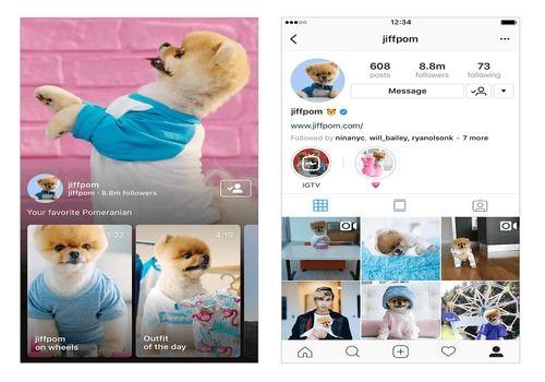 IGTV iOS