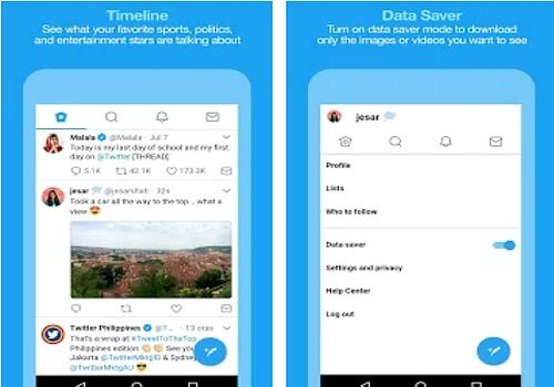 Twitter Lite Android