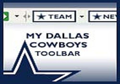 My Dallas Cowboys Toolbar