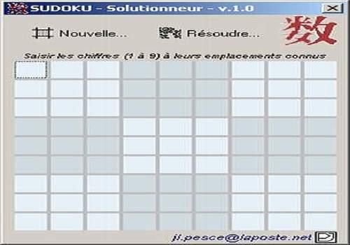 Downloaden Sudoku Solutionneur Für Windows Freeware
