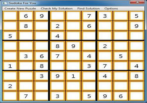 T l charger sudoku for you pour windows freeware - Grilles sudoku gratuites a imprimer avec solutions ...