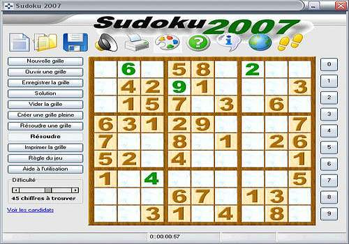 SUDOKU 2007