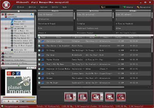 4Videosoft iPad 3 Manager