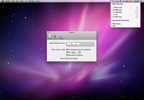 Cloud pour Mac
