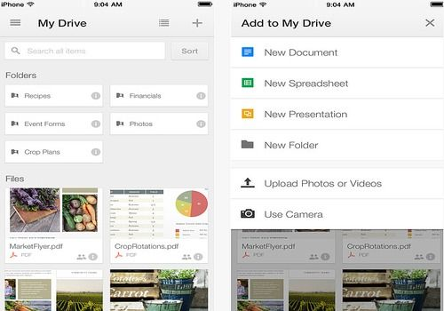 how to download google drive video on phone