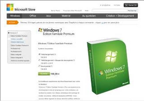 Windows 7 Édition Familiale Premium