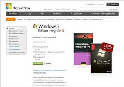 Windows 7 Édition Intégrale N
