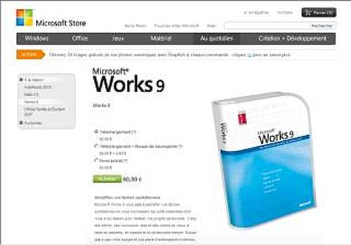 T l charger works 9 pour windows commercial - Windows office gratuit pour windows 8 ...