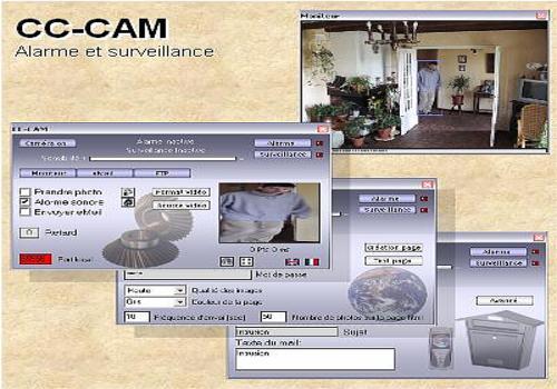 CC-CAM alarm system