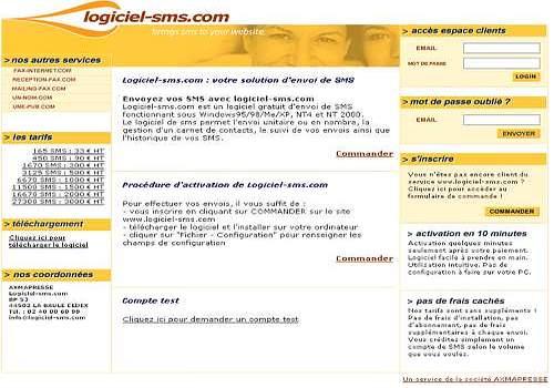 Logiciel-SMS