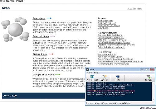 Axon Virtual PBx System