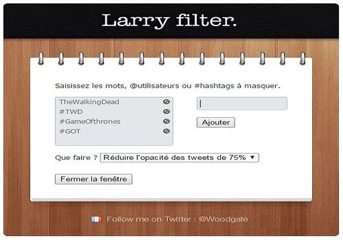 Larry Filter