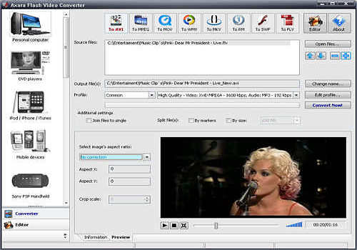 Flash Video Converter