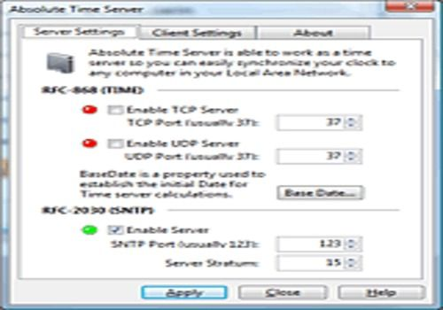 Absolute Time Server