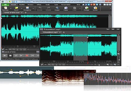WavePad - Éditeur audio gratuit
