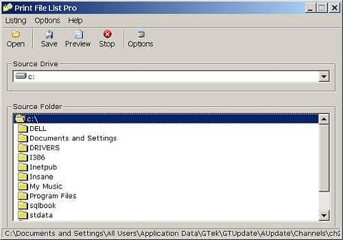 Print File List Pro