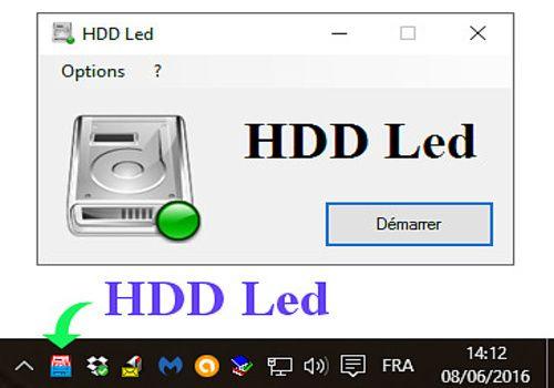 HDD Led