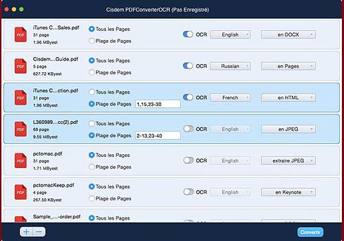 Cisdem PDFConverterOCR pour Mac