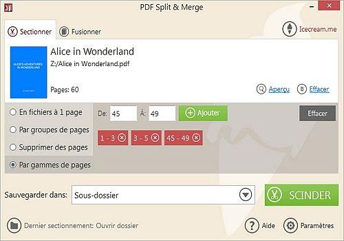 Icecream PDF Split & Merge 3.41