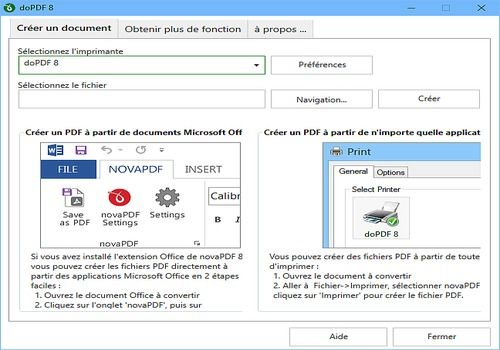 T l charger dopdf pour windows freeware - Convertir fichier pdf en open office gratuit ...