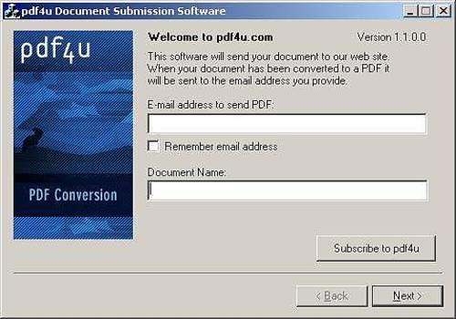 pdf4u Printer