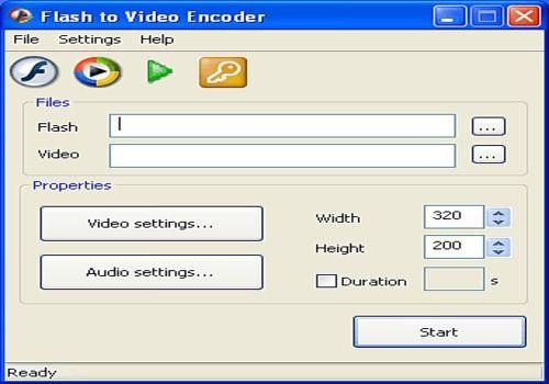 Flash To Video Encoder