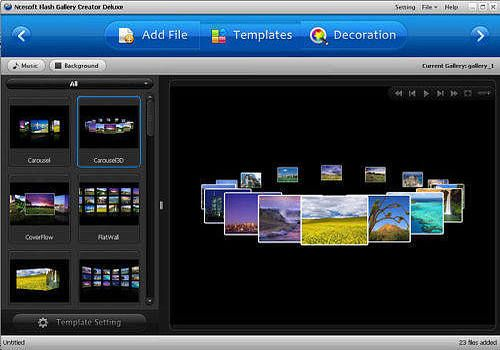 XML Flash Gallery Creator